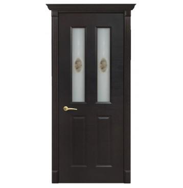 Дверь остекленная Екатерина 4